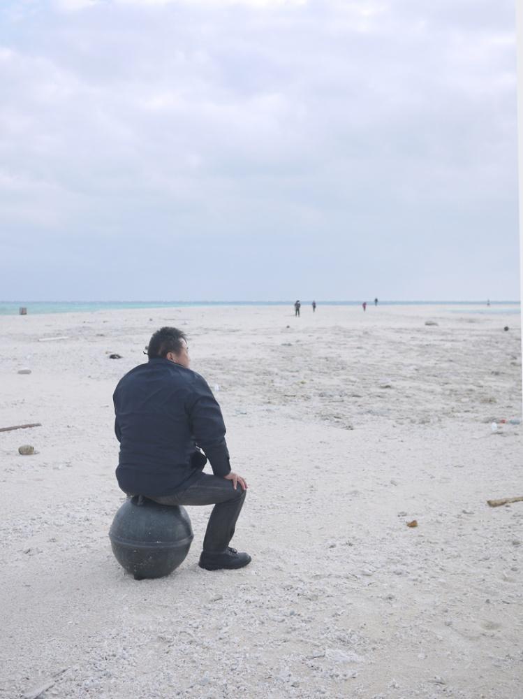 はての浜に漂着した親方