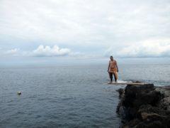 秋の浜@大島ダイビングツアー
