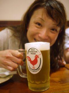 パラオの地ビールレッドルースター