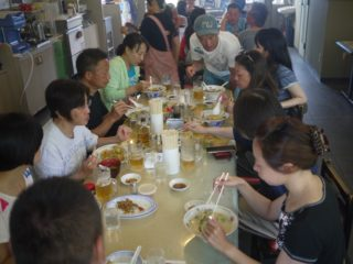 小笠原最後の食事
