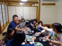 三岳で乾杯@屋久島ダイビングツアー