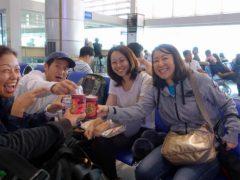 年越しセブダイビングツアー@マニラ空港