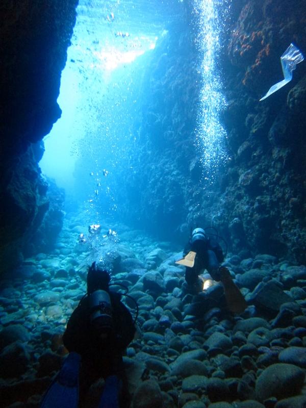 水中洞窟@田子アドバンス講習