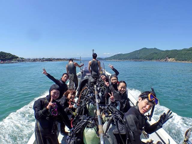 柏島ダイビングツアー#6月の海