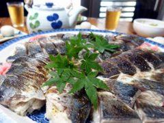 炙り鯖寿司#柏島ダイビングツアー#フィンハウス