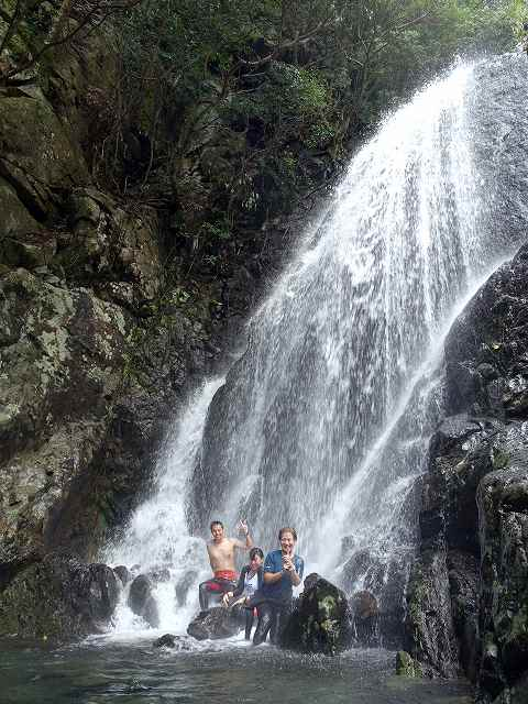 滝#屋久島ダイビングツアー