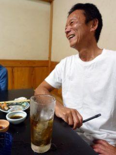 屋久島#夕食#潮騒