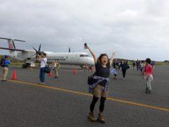 屋久島ダイビングツアー#プロペラ機