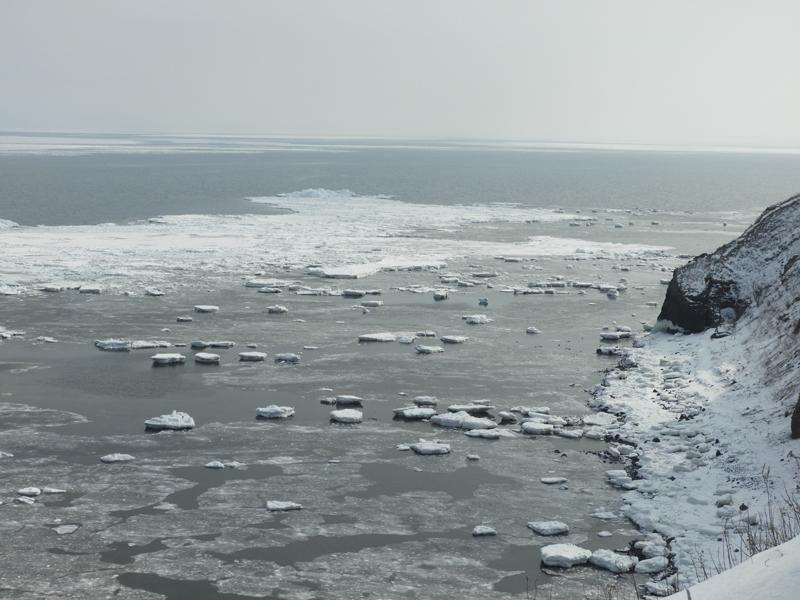 能取岬の絶景