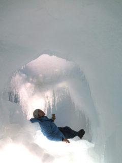 氷の城にて