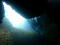 テトラポット洞窟#江の浦ダイビングツアー