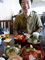 海鮮丼#季作久#江の浦ダイビング
