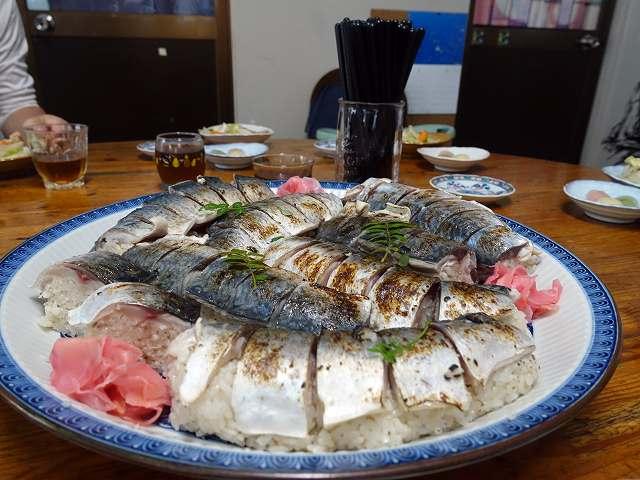 あぶり鯖寿司#柏島食事#フィンハウス