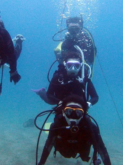 親子ダイバー#安良里ビーチダイビング