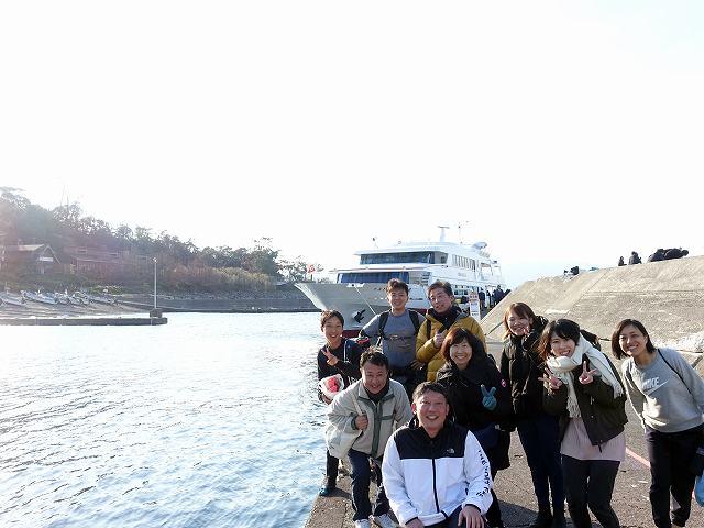 初島ツアー@自由が丘ダイビングスクール