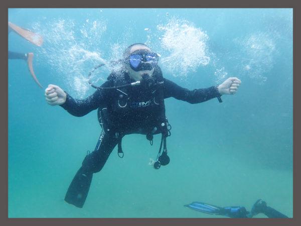 3年ぶりのダイビング