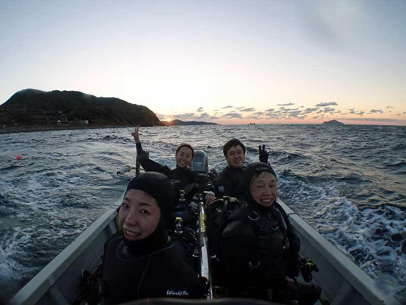 柏島ダイビングツアー@OCEANTRIBE