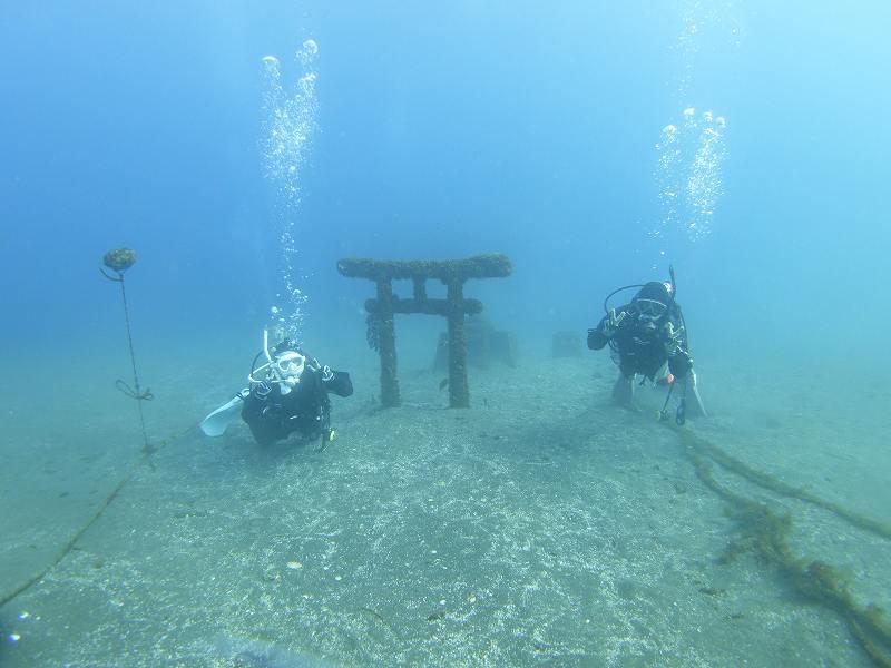 水中神社と
